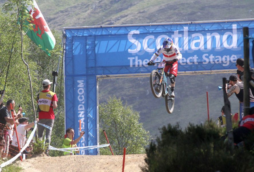 Rachel atherton, fort william world cup,