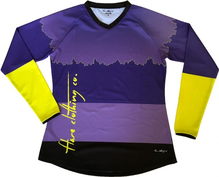 Women's Roost top is more fitted