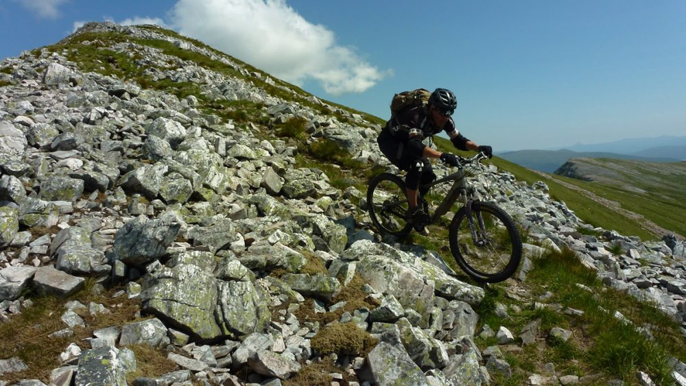 Downhill in Scotland UK mountain bike adventure Singletrack Magazine