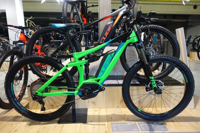 cube full suspension xc carbon bike ams fox kashima race face next 2017