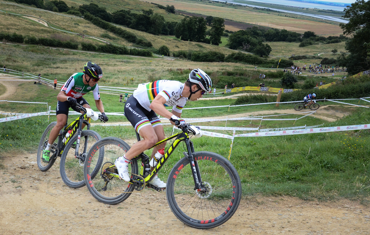hadleigh park xco mountain bike race