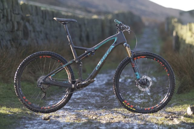 orbea occam tr carbon mountain bike 29 trail dt swiss fox suspension raceface xtr reverb kashima
