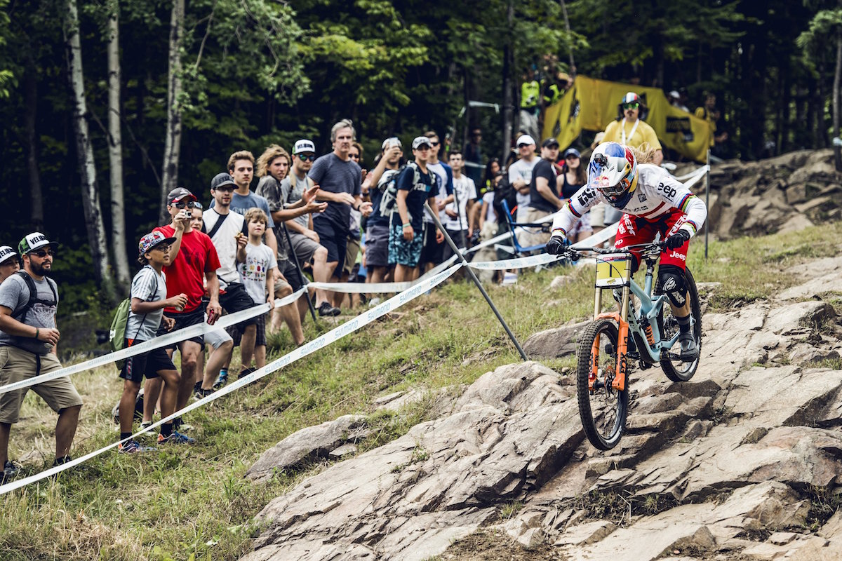 mont-saint anne world cup downhill mountain bike xco rachel atherton