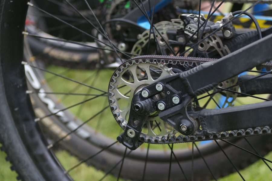 geometron belt drive ard rock enduro race