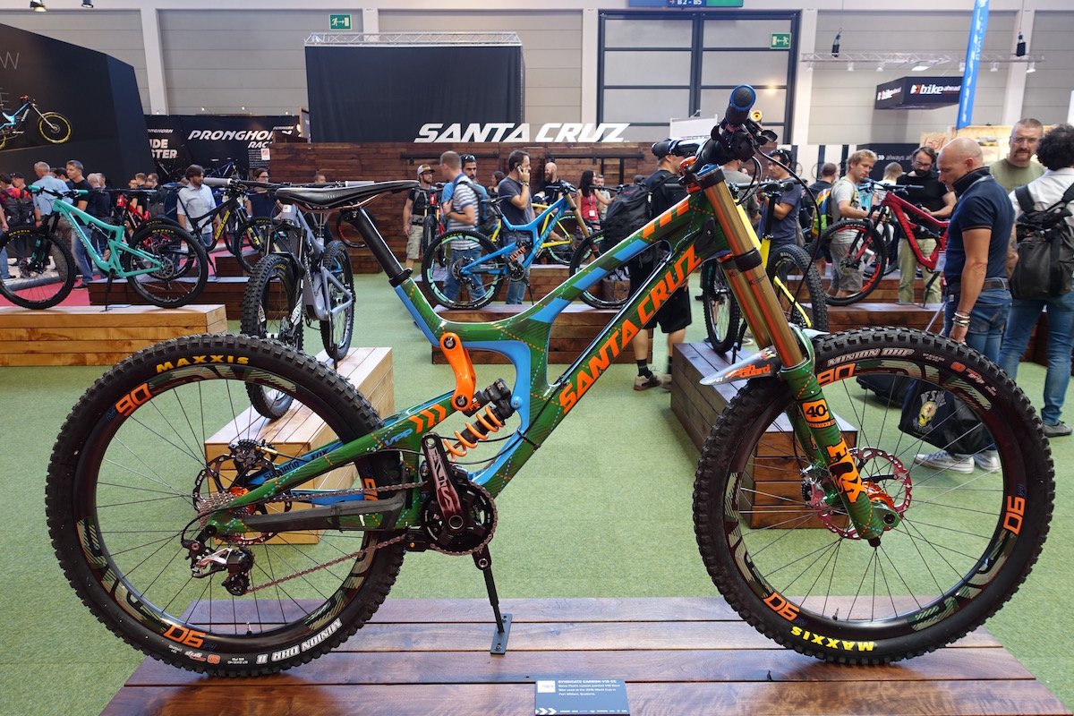 santa cruz eurobike carbon vpp fox steve peat juliana