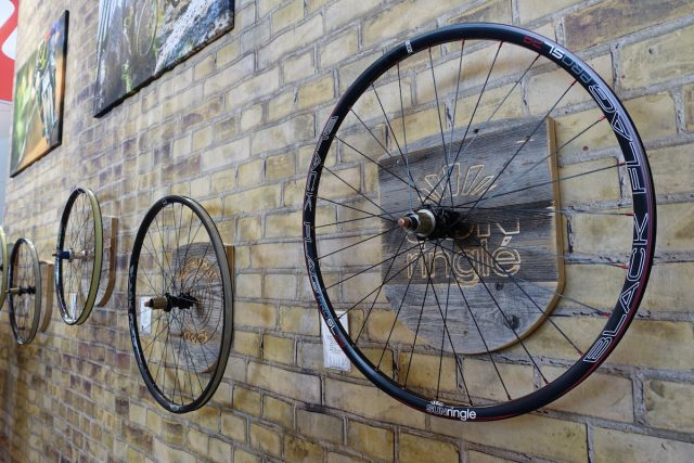 hayes components disc brake manitou suspension sun ringle wheels