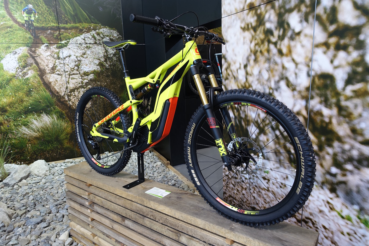 cannondale monterra ebike electric bosch fox kashima eurobike full suspension plus 27.5