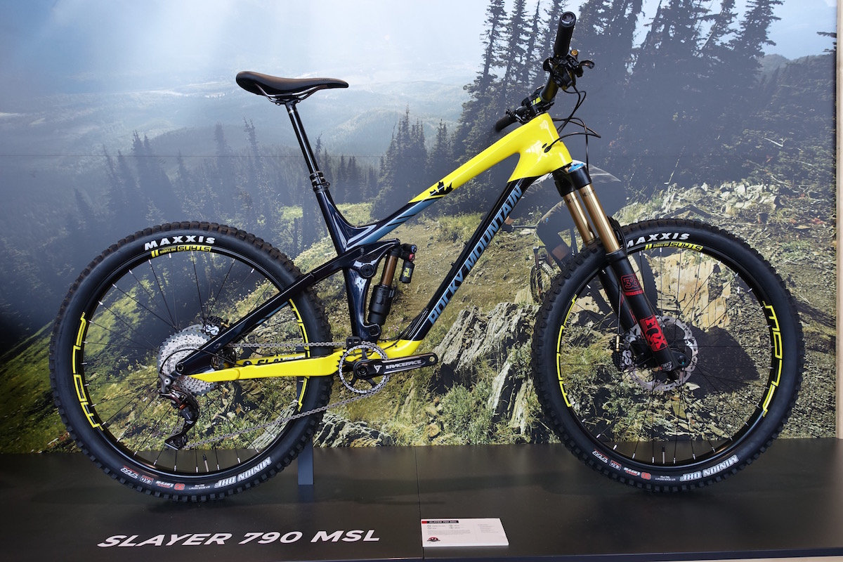 rocky mountain slayer enduro element full suspension fox kashima carbon