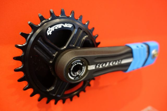 rotor hawk raptor crank crankset chainring 1x narrow wide oval qring alloy machined direct mount