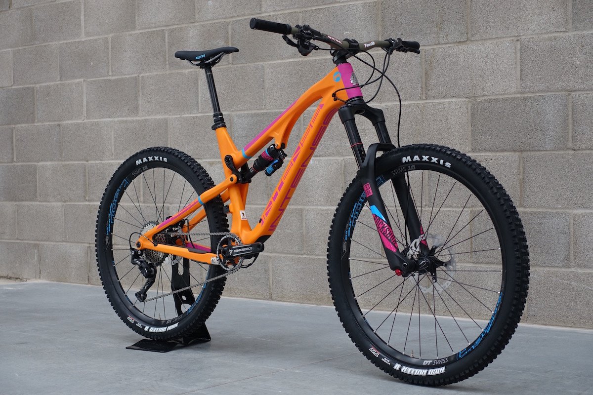 intense recluse carbon enduro 650b 27.5 rockshox expensive