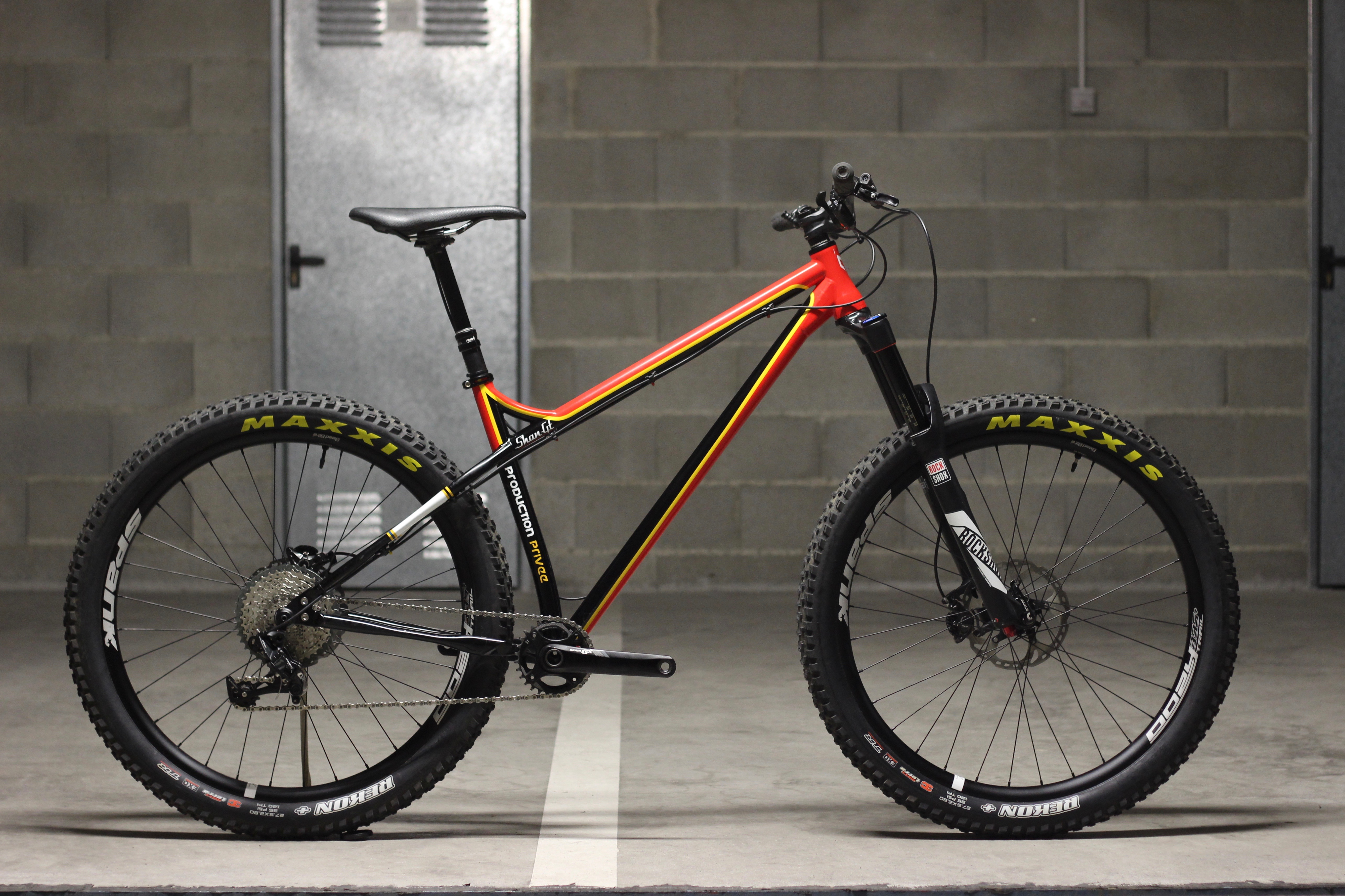 production privee shan gt steel hardtail