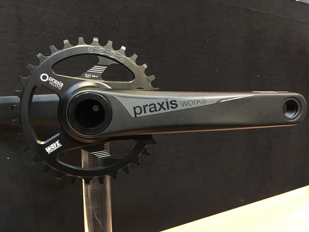 praxis works alloy cranks girder lyft carbon bb30 chainring wheel