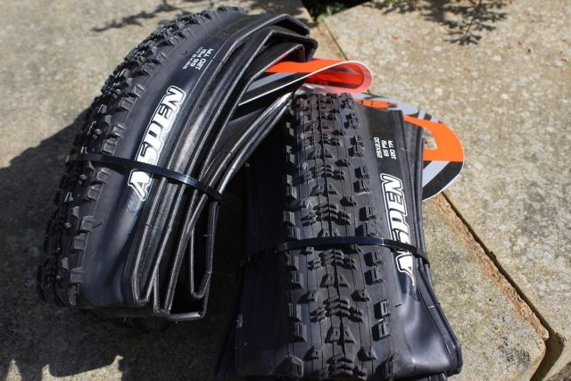 maxxis aspen 29 tyre cross country