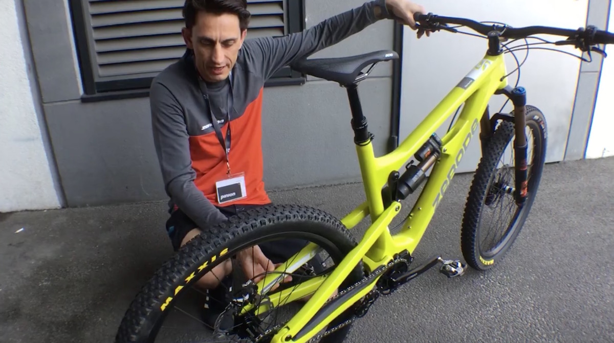 zerode gearbox taniwha carbon fox kashima enduro mountain full