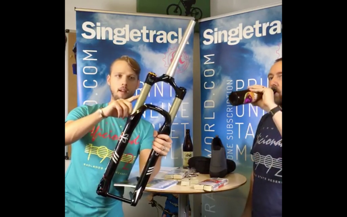 singletrack fresh goods friday facebook live x fusion beer studio