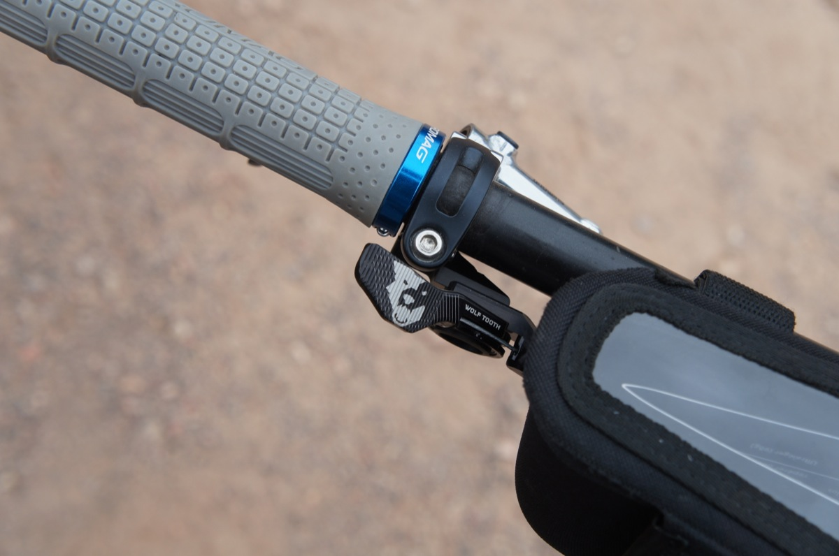 Interbike Wolf Tooth Launches Dropper Remote