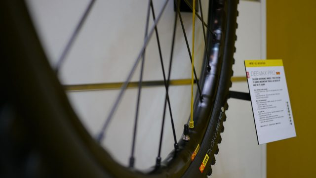 Mavic Deemax Pro wheel - Eurobike 2016