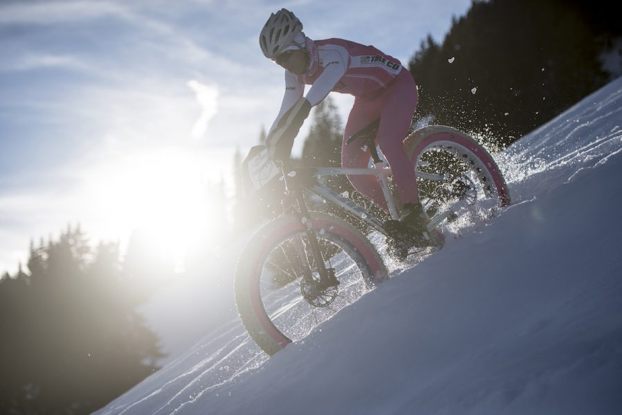 fat bike snow uci race switzerland