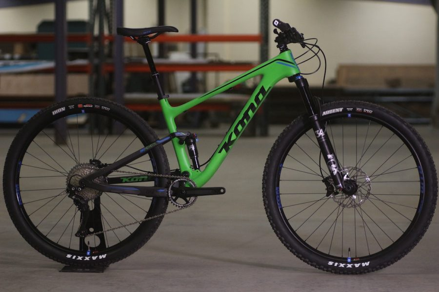 kona hei hei 29er trail full suspension fox ks integra