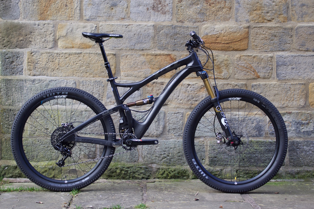 yeti sb5c carbon forjenn jenn hill auction charity fox rockshox sram dmr