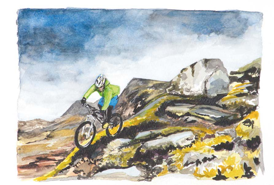 classic ride Cadair Idris issue 80