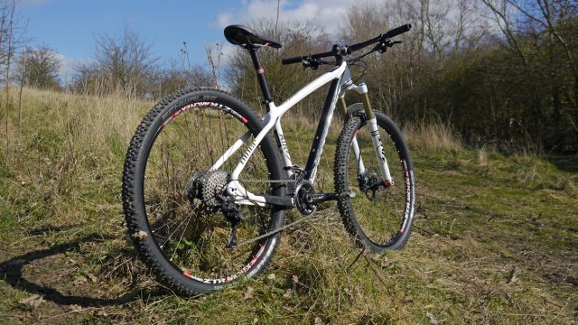 niner air 9 carbon 29er 29in hardtail race fox deore xt 2x11 cold