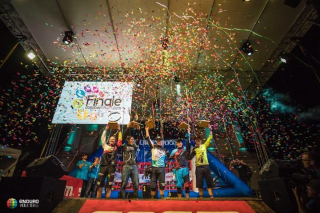 enduro world series finale ligure river crossing water full face italy mountain victory