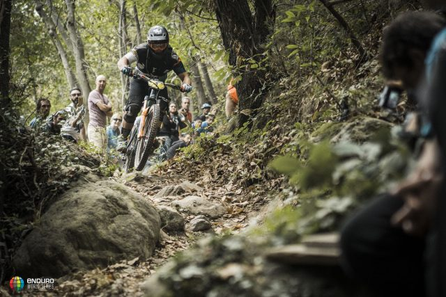 enduro world series finale ligure river crossing water full face italy mountain