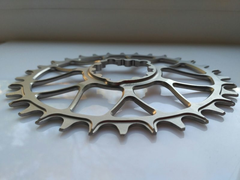 titanium jockey wheels chainring narrow wide direct mount