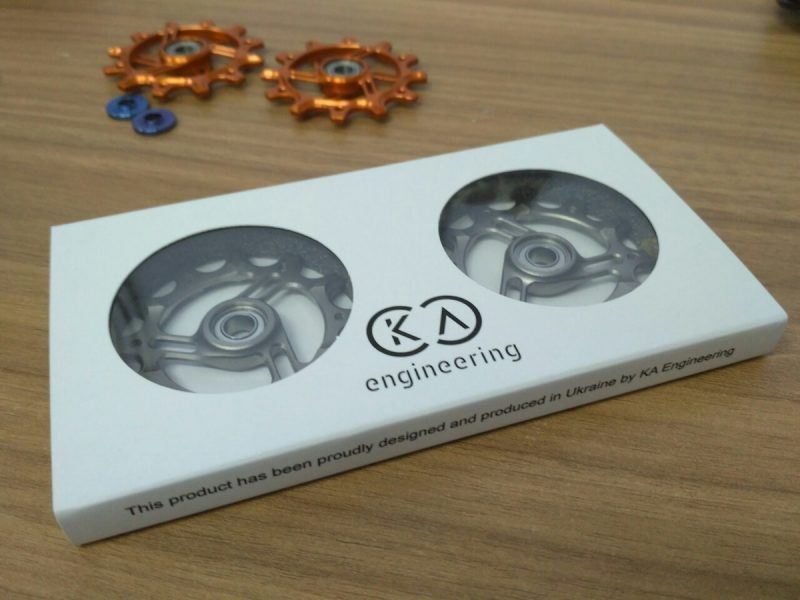 titanium jockey wheel chainring narrow wide exotic