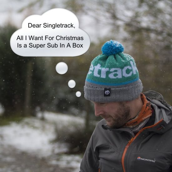 super sub in a box, gift subs, singletrack bobble hat, wonky woolies