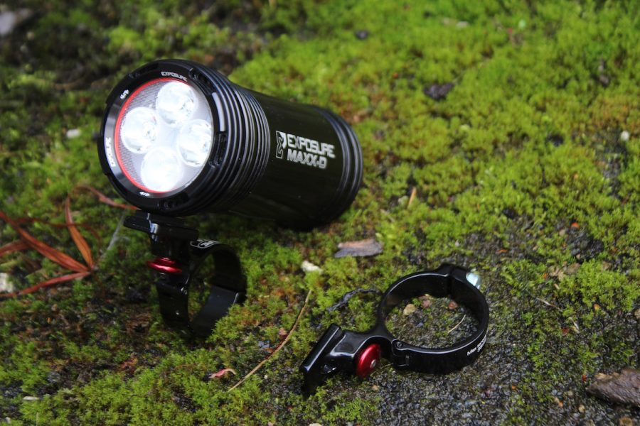 exposure use light led helmet handlebar