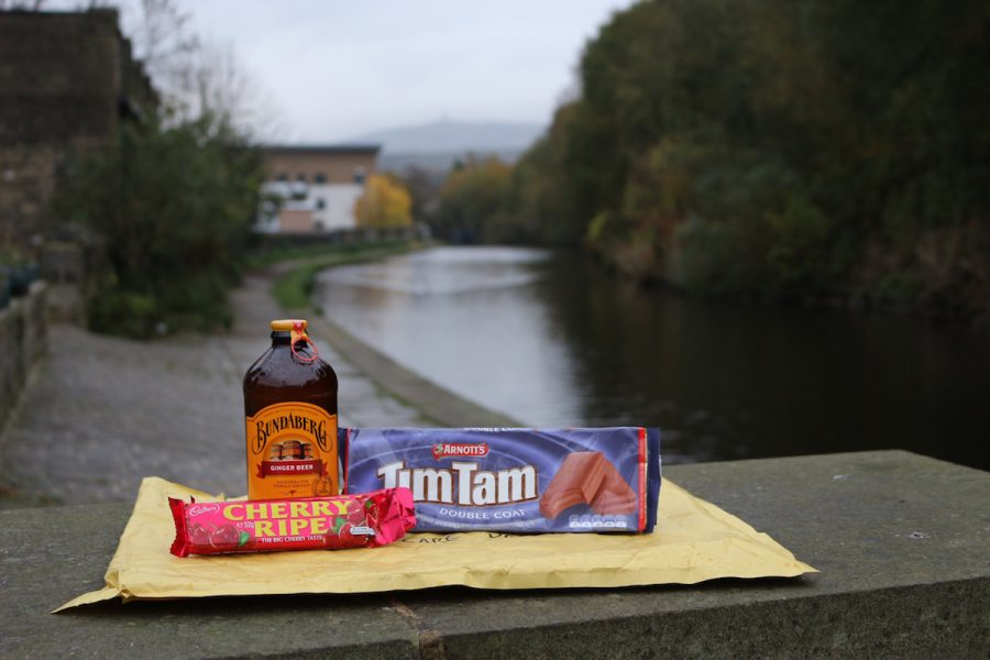 aussie australian tim tam biscuit chocolate cherry ripe ginger beer