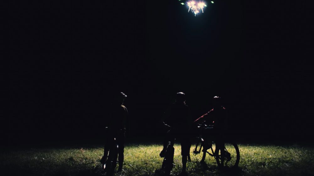 drone night light creepy ride