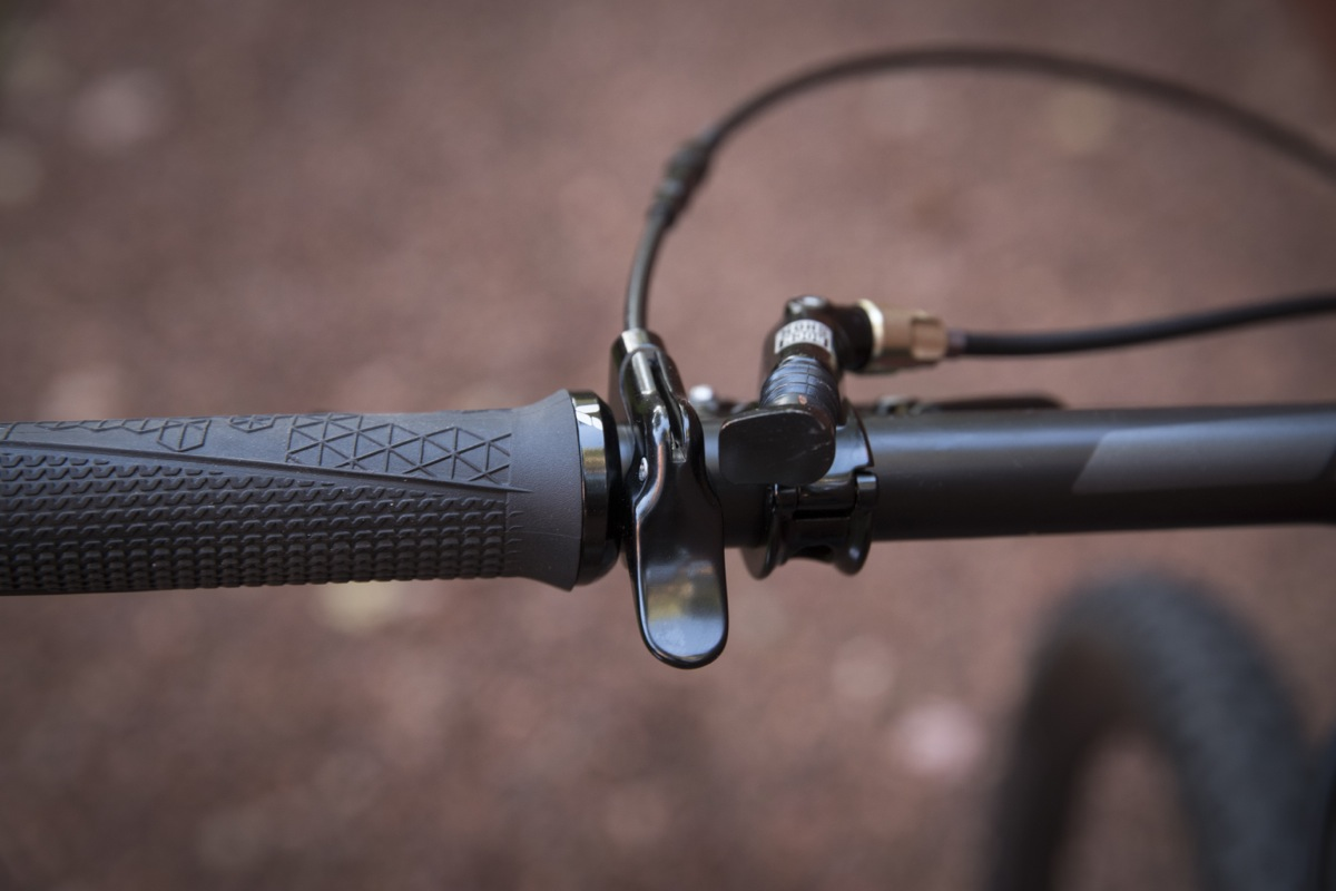 Dropper actuator. Photo Credit: Sterling Lorence