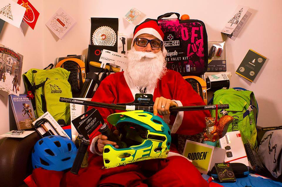 singletrack advent calendar giveaway competition santa wil