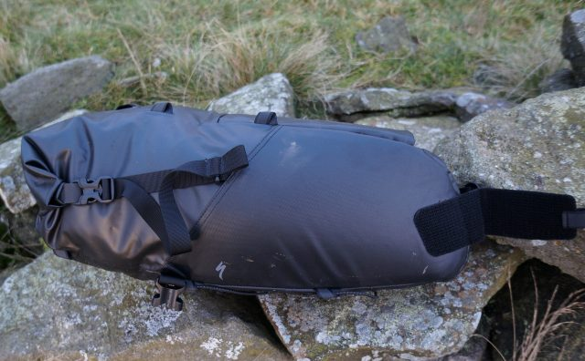 One sturdy-looking seatpack