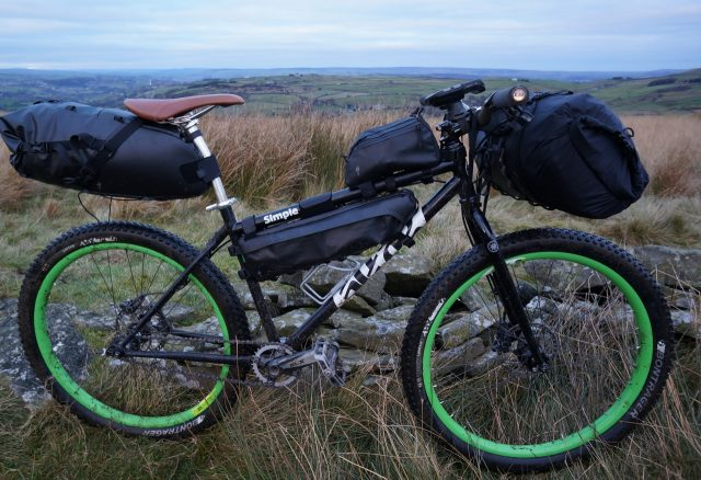 Load up your bike and head for the hills