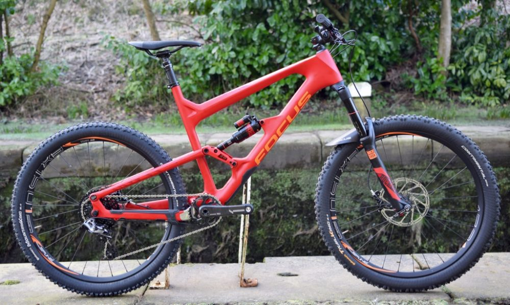 focus sam carbon enduro bike
