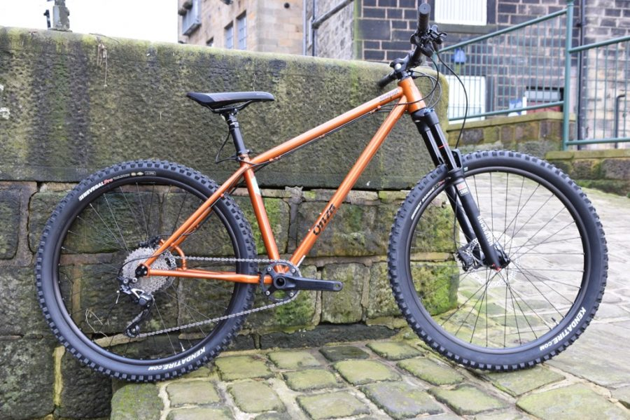 onza jackpot steel hardtail long travel