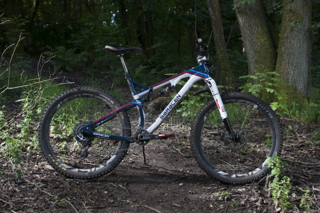 saracen kili flyer carbon frame 27.5 full suspension rs1 rs-1 rockshox doss fox dropper sram patriot