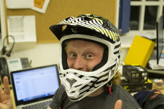 Lazer full-face helmet