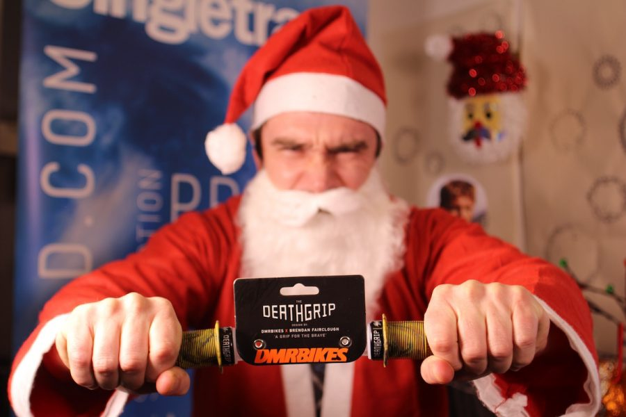 Angry Santa likes Brendog Grips - Be good. For F... sake.. be good!