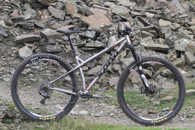 kona honzo titanium 29in hardtail rockshox pike dropper hardcore trail