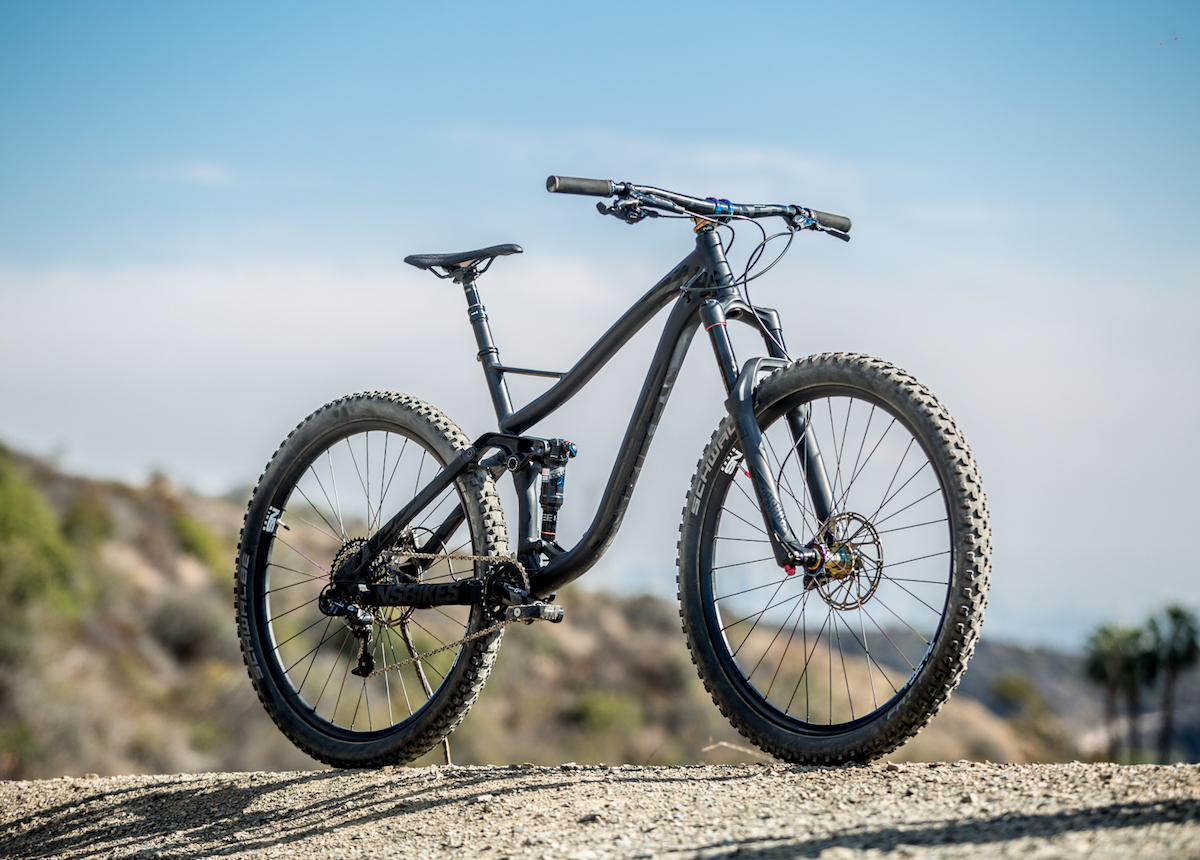 ns snabb 29 27.5 plus full suspension trail bike