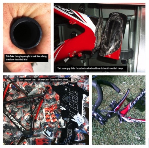 counterfeit specialized parts