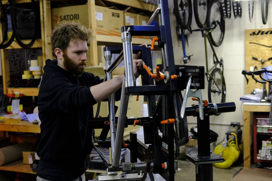 shand cycles, framebuilding, steel, scottish, made in britain, hardtail