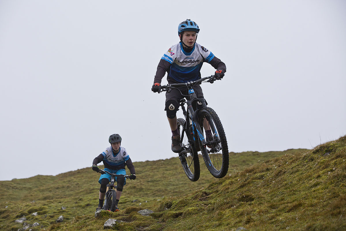 tweedlove enduro race pair team junior