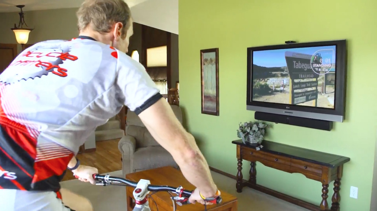 indoor training spin class turbo video spintertainment