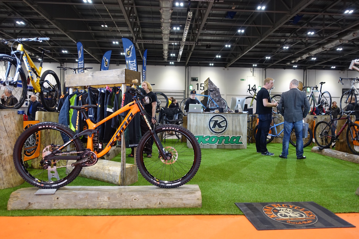 kona bikes london bike show hei hei honzo carbon process